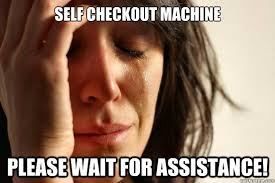 Self Checkout Meme - list of synonyms and antonyms of the word self checkout funny