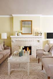 cheerful neutral wall paint and warm cottage style decor a dirty
