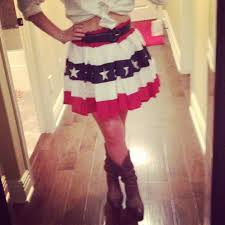 4th of july with cowboy boots