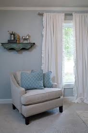 White Ruffled Curtains For Nursery by 7 Best Living Rooms Images On Pinterest Living Room Ideas Chip