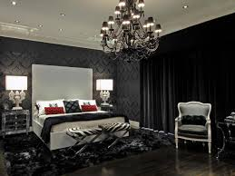 deep grey colors wall paint the black end table purple color led