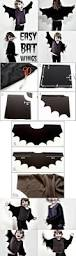 how to easy bat wings for halloween or dress ups costumes