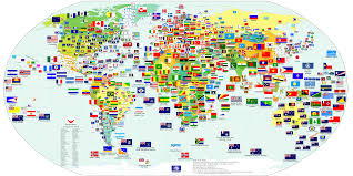 Large Printable World Map With Country Names by Map Of The World With Countries Names Pictures 4