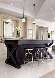black island kitchen best 25 black kitchen island ideas on eclectic