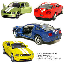 Black Mustang Red Stripes Amazon Com Set Of 4 5