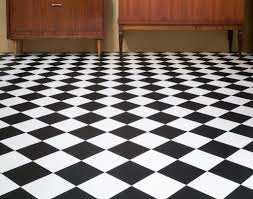 black and white vinyl floor tiles on slate tile flooring bathroom