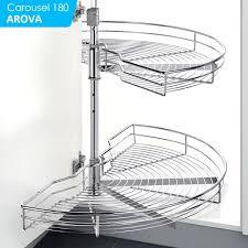 furniture corner cabinet lazy susan turntable organizer for