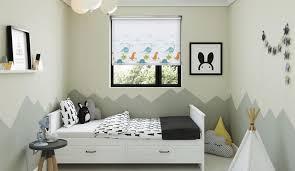 Nursery  Kids Bedroom Blinds Blindscouk - Childrens blinds for bedrooms
