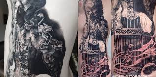 a tattooist inspired by master painters scene360