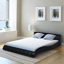 Black Leather Sleigh Bed Best 25 Upholstered King Bed Frame Ideas On Pinterest King Size
