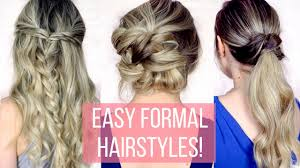 formal hairstyles long prom formal hairstyles for long hair hair tutorial youtube