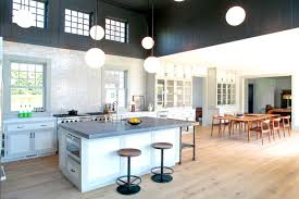light hardwood floors in kitchen