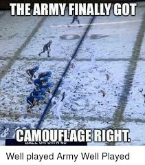 the army finally got camoufage right well played army well played