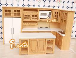 set de cuisine iland meubles chêne en bois set de cuisine réfrigérateur micro