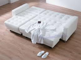 White Sleeper Sofa Wonderful White Leather Sleeper Sofa With White Leather Sleeper