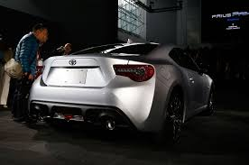 frs with lexus bumper 2017 toyota 86 revealed for new york the scion fr s gets a new
