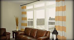 blinds striped window treatments stunning blue