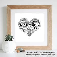 1st wedding anniversary gift for st traditional 1st wedding anniversary gift wedding anniversary
