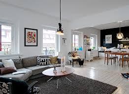 modern swedish living room interior design cool minimalistic trends