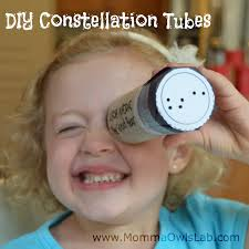 momma owl u0027s lab diy constellation tubes