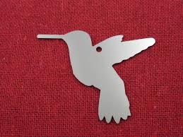 ornament stainless steel hummingbird