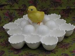 ceramic egg plate baby eggshells vintage ceramic egg plate for easter