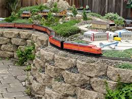 Garden Railroad Layouts Raised Garden Railroads Layouts