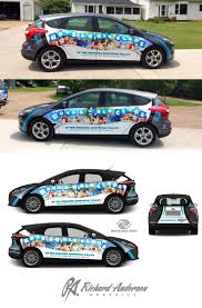 Ford Camo Truck Wraps - boys u0026 girls club ford focus livery business advertising
