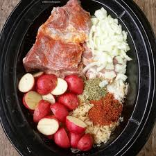 slow cooker pork u0026 sauerkraut fit slowcooker queen