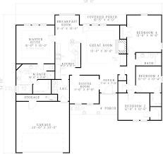 slab home plans chic ranch style house plans on a slab 1 sabourin traditional home