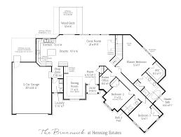 ranch floor plans with 3 car garage brunswick ranch home u2013 henning estates