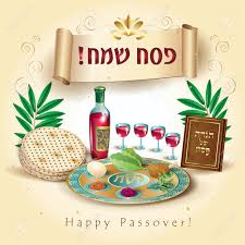 pesach plate happy passover translate from hebrew lettering greeting