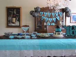 sweet 16 party supplies sweet 16 party decor candy buffet cake banner and centerpiece