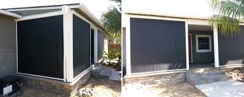 Retractable Awnings San Diego Sunmaster Products Recent Projects Awnings Canopies Solar