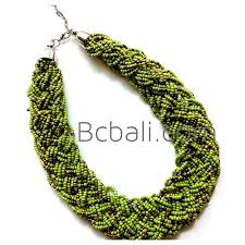 handmade necklace with beads images Full beads handmade necklace wrap chokers bali design full beads jpg