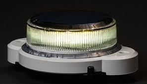 solar led dock lights solar marine lantern white