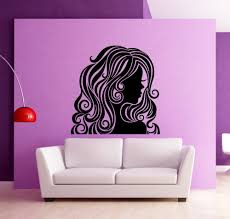 compare prices on spa wall stickers online shopping buy low price removable room decoration wall sticker beauty hair girl spa salon decals modern wall decal kw