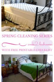 spring cleaning series week 2 bedroom