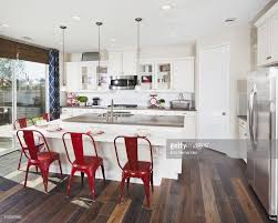 Counter Height Kitchen Island - bar stools kitchen island with red bar stools in house picture