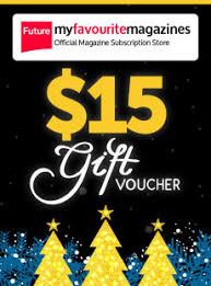 magazine subscriptions u0026 more gift vouchers
