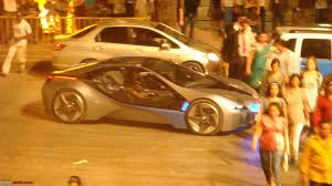 Bmw I8 Mission Impossible - pics bmw vision efficientdynamics spotted at mi 4 shoot