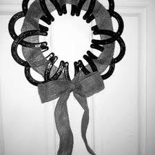 horseshoe wreath shop horseshoe wedding on wanelo