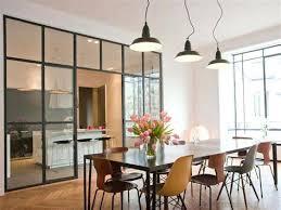 separation en verre cuisine salon separation cuisine style atelier exceptional separation cuisine