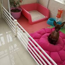chambre pour chien parc pour chiens animaux intérieure rétractable pet isoler porte
