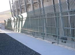 aegis ii industrial fencing high security decorative steel