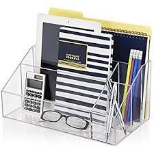 Clear Desk Organizer Premium Quality Clear Plastic Craft And Desktop