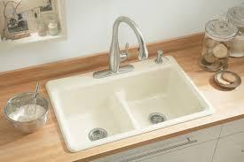 Kohler White Kitchen Sink Victoriaentrelassombrascom - Kholer kitchen sinks
