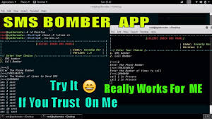 sms bomber apk sms bomber app call spoofer coming soon only trusted