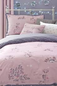 buy cotton rich mauve butterfly bed set from the next uk online