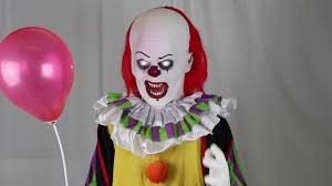 life sized pennywise the clown animated prop now at halloween club